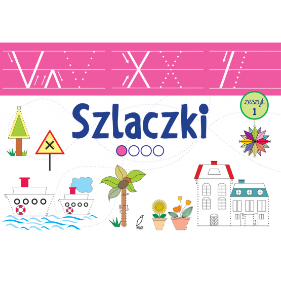 Książka Szlaczki bardzo łatwe Praca zbiorowa