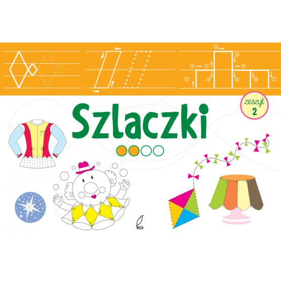 Książka Szlaczki łatwe Praca zbiorowa