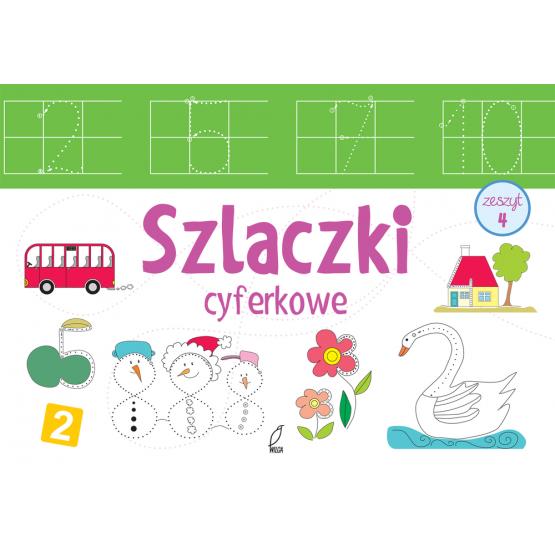 Książka Szlaczki cyferkowe Praca zbiorowa