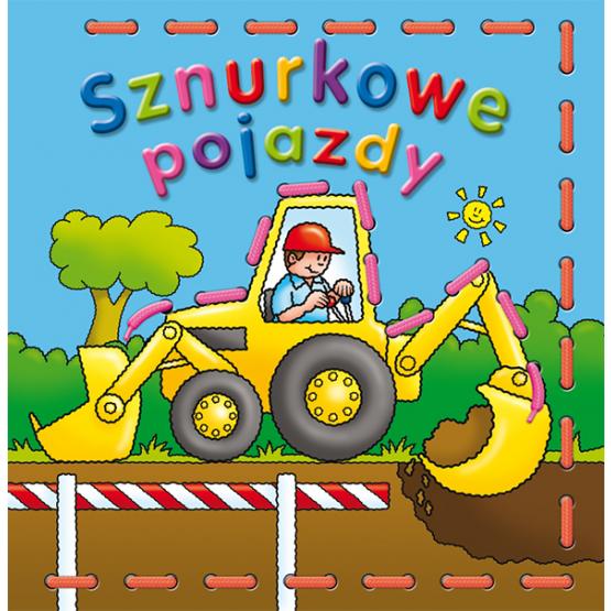 Książka Sznurkowe pojazdy Praca zbiorowa