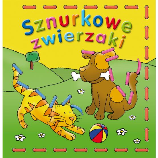 Książka Sznurkowe zwierzaki Praca zbiorowa
