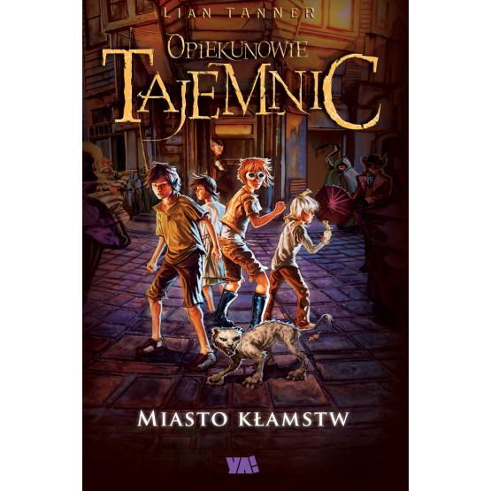 Książka Miasto kłamstw Tanner Lian