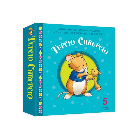 Książka Box Tupcio Chrupcio Praca zbiorowa