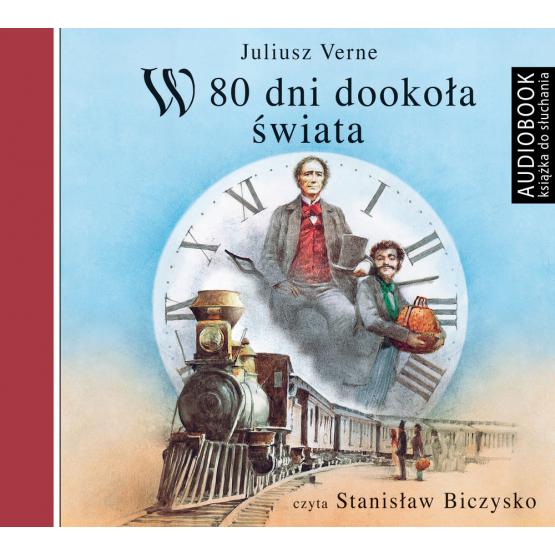 Książka W 80 dni dookoła świata Verne Juliusz