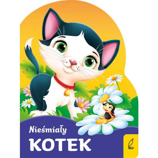 Książka Nieśmiały kotek Praca zbiorowa