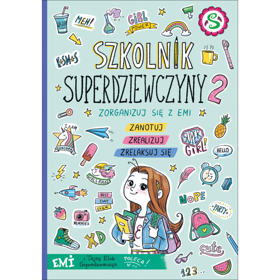 Książka Emi i Tajny Klub Superdziewczyn. Szkolnik 2019 Mielech Agnieszka