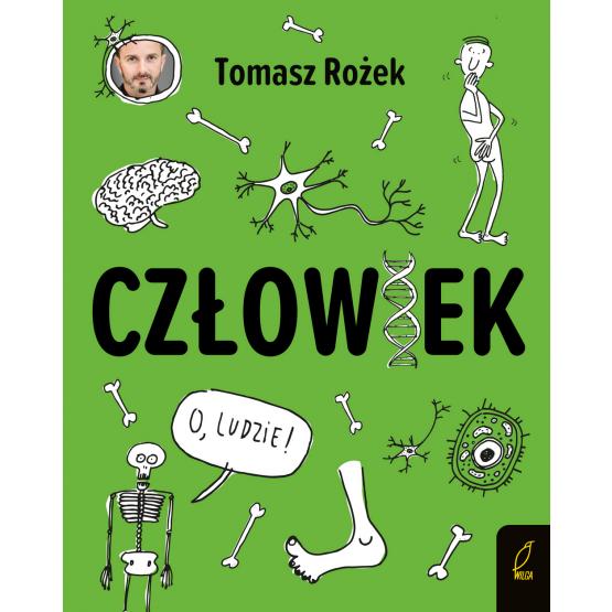 Książka Człowiek Tomasz Rożek