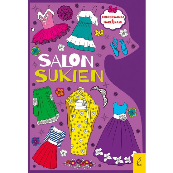 Książka Kolorowanki. Salon sukien Praca zbiorowa