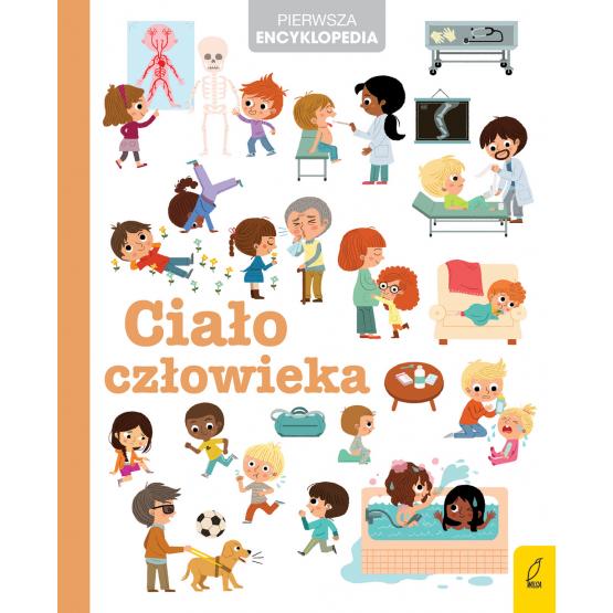 Książka Pierwsza encyklopedia. Ciało człowieka Praca zbiorowa