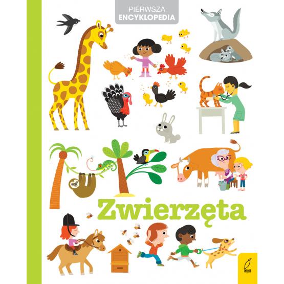 Książka Pierwsza encyklopedia. Zwierzęta Praca zbiorowa