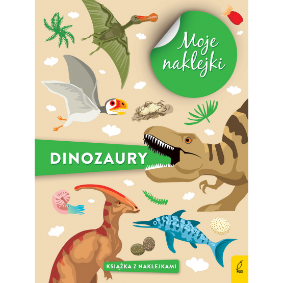Książka Moje naklejki. Dinozaury Praca zbiorowa