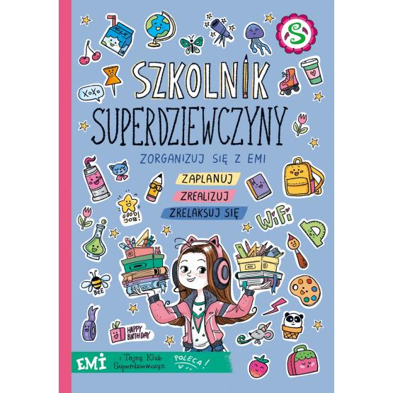 Książka Emi i Tajny Klub Superdziewczyn. Szkolnik 2021 Agnieszka Mielech