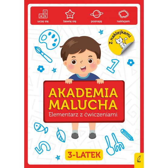 Książka Akademia Malucha. Elementarz z ćwiczeniami 3-latek Praca zbiorowa