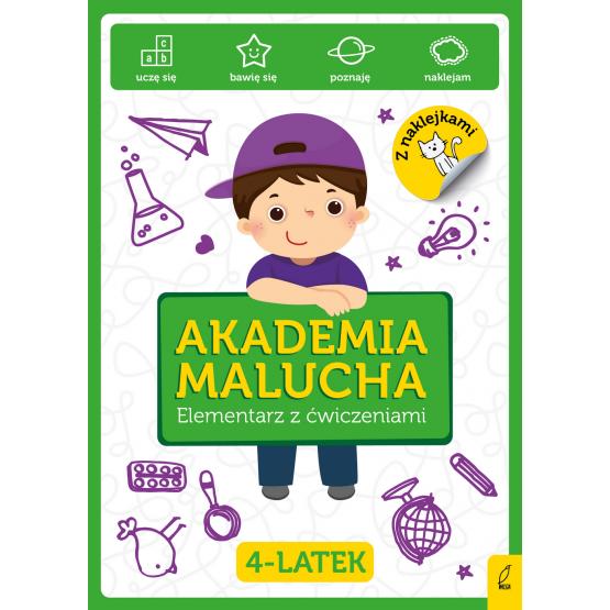 Książka Akademia Malucha. Elementarz z ćwiczeniami 4-latek Praca zbiorowa