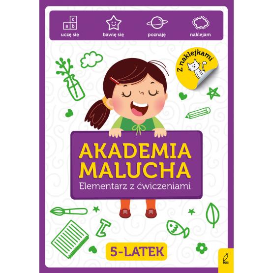 Książka Akademia Malucha. Elementarz z ćwiczeniami 5-latek Praca zbiorowa