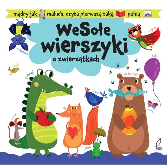 Książka Wesołe wierszyki o zwierzątkach Kozłowska Urszula