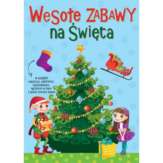 Książka Wesołe zabawy na święta. Zimowe ćwiczenia Praca zbiorowa