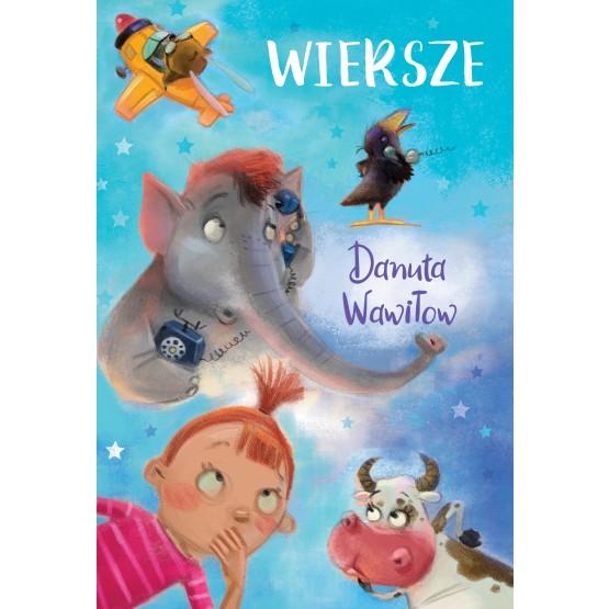 Książka Wiersze Wawiłow Danuta