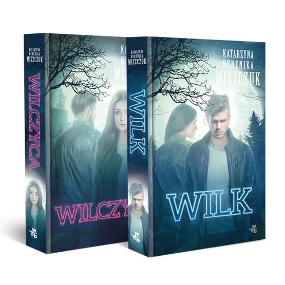 Książka Pakiet: Wilk i Wilczyca. 2 tomy Miszczuk Berenika Katarzyna