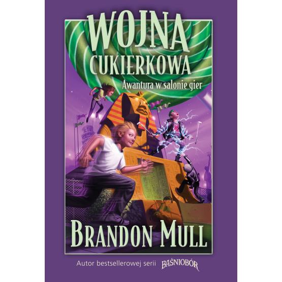 Książka Wojna cukierkowa. Awantura w salonie gier Mull Brandon