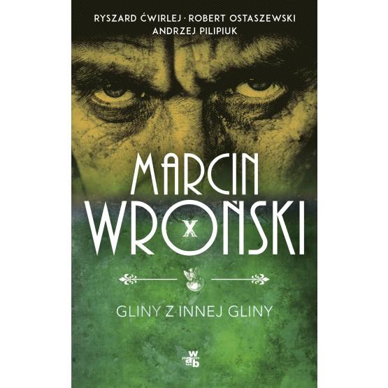 Książka Gliny z innej gliny. Z autografem Wroński Marcin