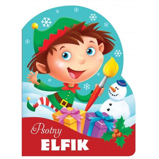 Książka Psotny elfik. Wykrojnik praca zbiorowa