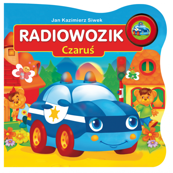 Książka Radiowozik Czaruś Siwek Kazimierz Jan