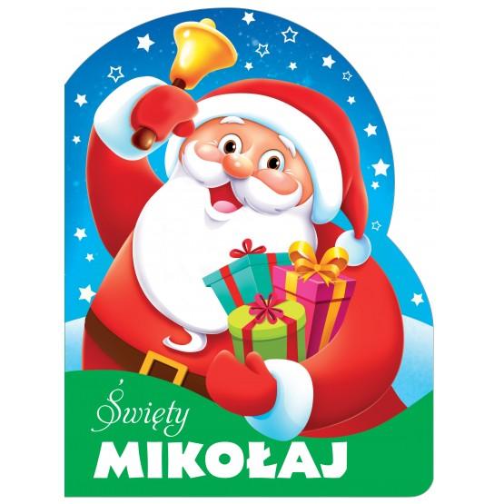 Książka Święty Mikołaj. Wykrojnik praca zbiorowa