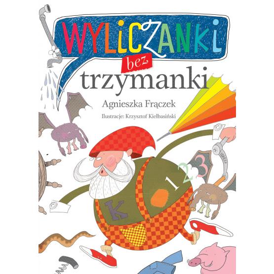 Książka Wyliczanki bez trzymanki Frączek Agnieszka