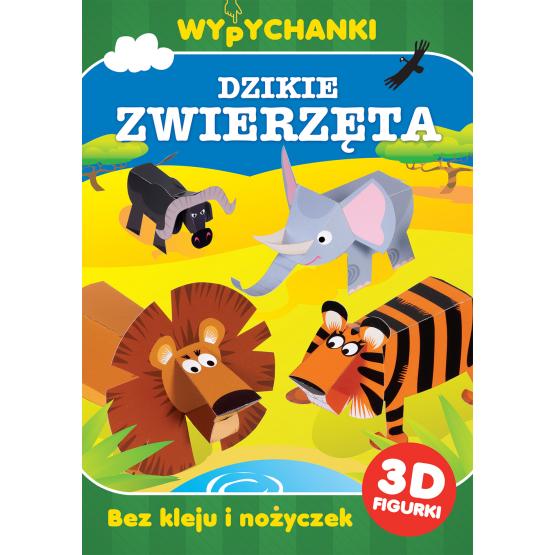 Książka Dzikie zwierzęta. Wypychanki Praca zbiorowa