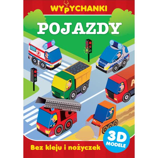 Książka Pojazdy. Wypychanki Praca zbiorowa