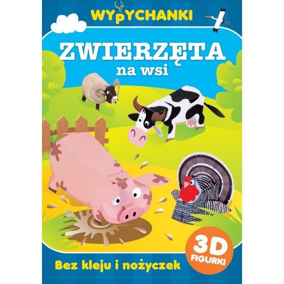 Książka Zwierzęta na wsi. Wypychanki Praca zbiorowa