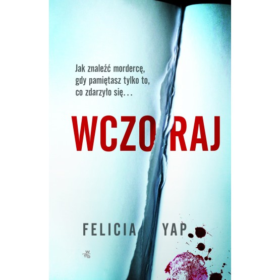 Książka Wczoraj Yap Felicia