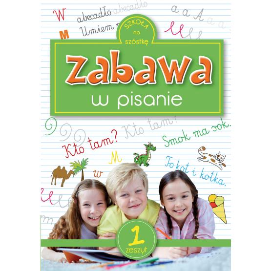 Książka Zabawa w pisanie Sarna Katarzyna