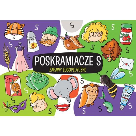 Książka Zabawy logopedyczne. Poskramiacze S Protasewicz Ewelina
