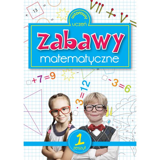 Książka Zabawy matematyczne Sarna Katarzyna