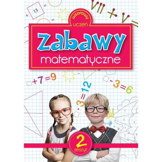 Książka Zabawy matematyczne 2 Sarna Katarzyna