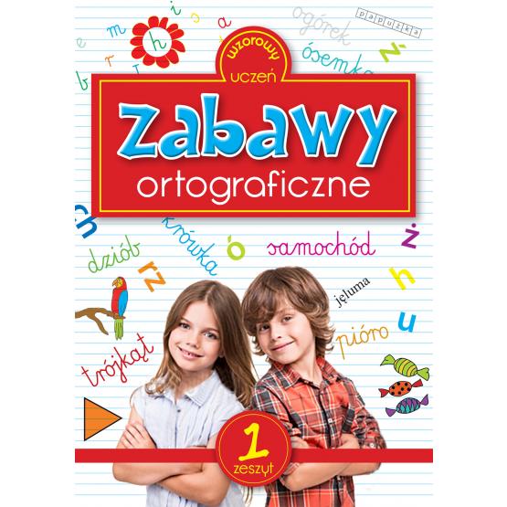 Książka Zabawy ortograficzne Sarna Katarzyna