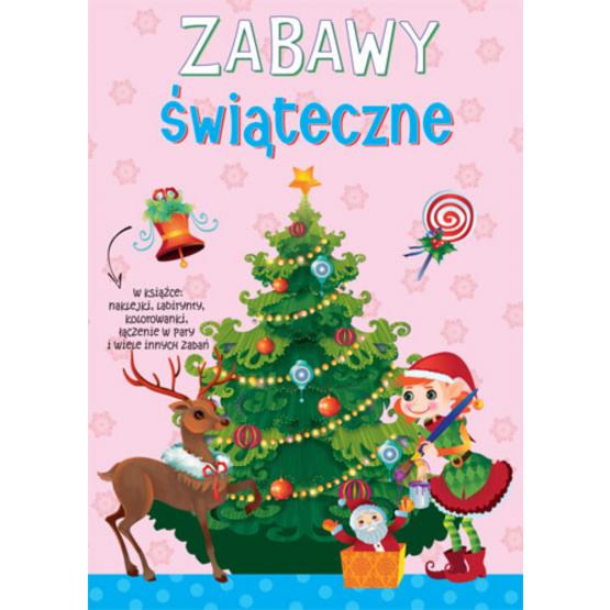 Książka Zabawy świąteczne. Zimowe ćwiczenia Praca zbiorowa