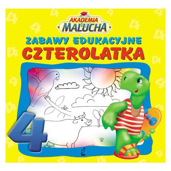 Książka Zabawy edukacyjne czterolatka Praca zbiorowa