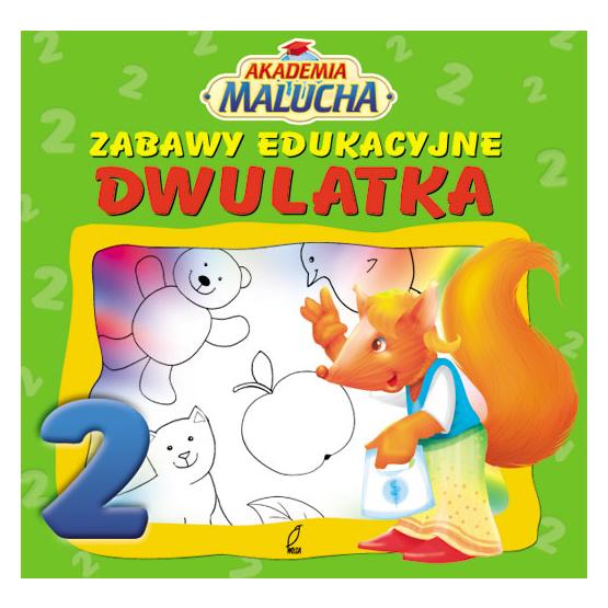 Książka Zabawy edukacyjne dwulatka Praca zbiorowa