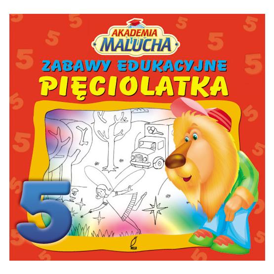 Książka Zabawy edukacyjne pięciolatka Praca zbiorowa