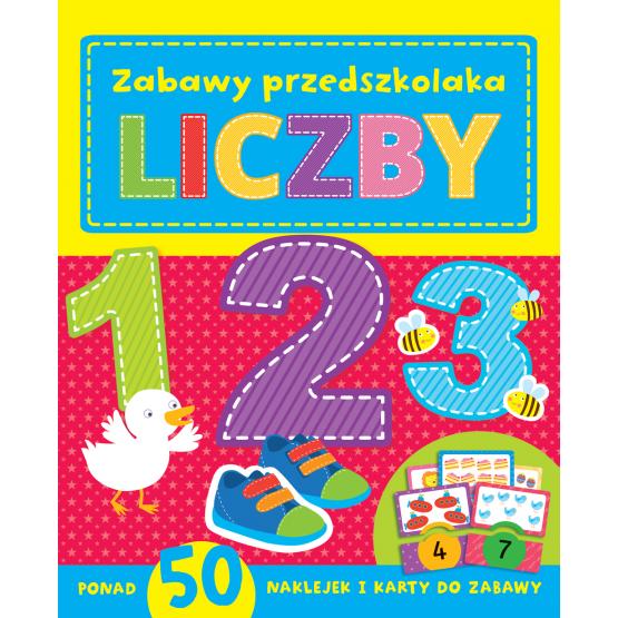 Książka Zabawy  przedszkolaka. Liczby Praca zbiorowa