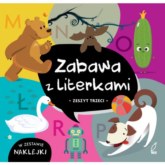 Książka Zabawa z literkami. Zeszyt trzeci. Ł-R Praca zbiorowa