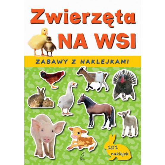 Książka Zwierzęta na wsi Sarna Katarzyna