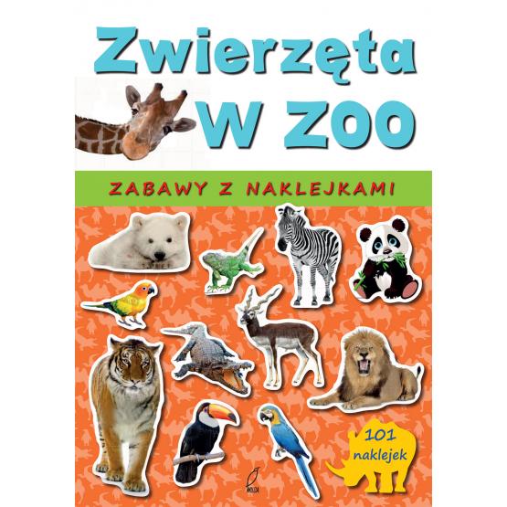 Książka Zwierzęta w zoo Sarna Katarzyna