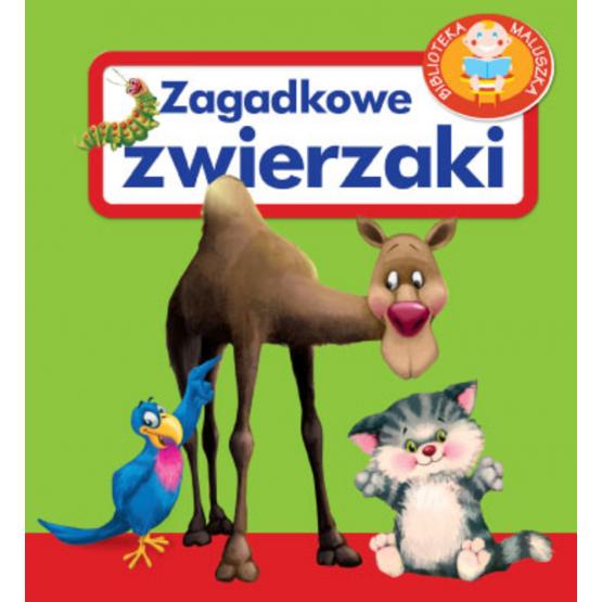 Książka Zagadkowe zwierzaki Kozłowska Urszula