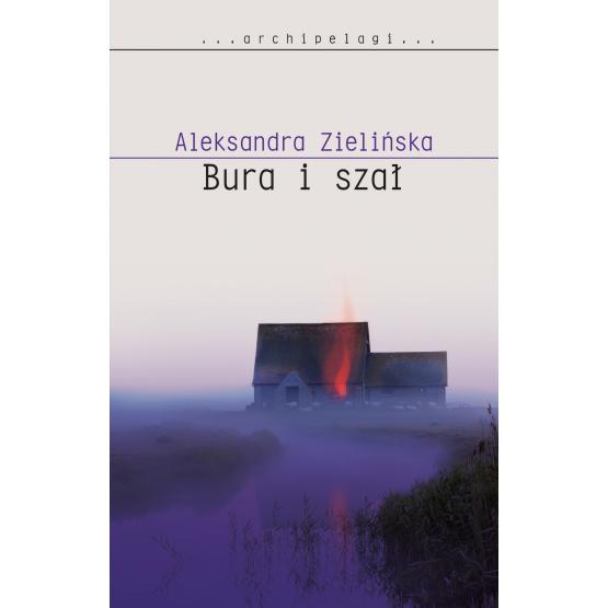Książka Bura i szał Zielińska Aleksandra