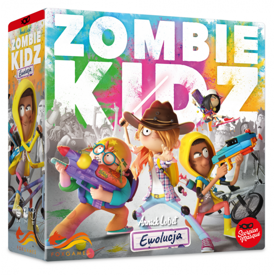 Gra fox 3a Zombie Kidz: Ewolucja