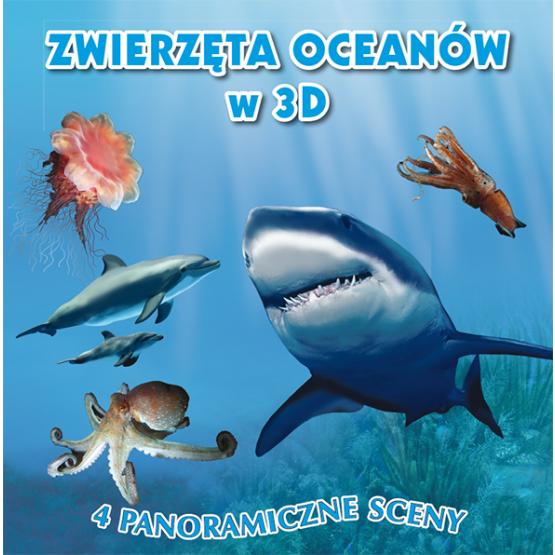 Książka Zwierzęta oceanów w 3D Praca zbiorowa